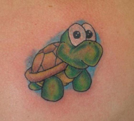 14 Cartoon Turtle Tattoo Ideas Petpress